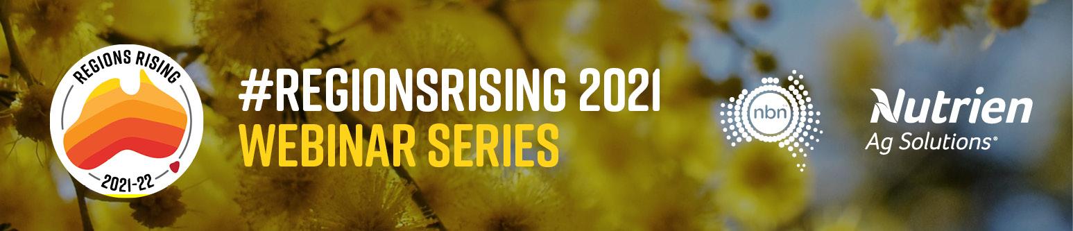 #RegionsRising 2021 Webinar Series